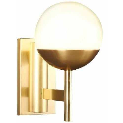 Kinkiet LAMPA ścienna DALLAS W0207 Maxlight szklana OPRAWA kula ball złota