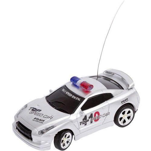 Model samochodu RC Invento Policja, srebrna, 1:58, Elektryczny, RtR