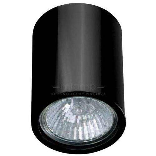 Orlicki design Downlight lampa sufitowa kika pl/120 metalowa oprawa tuba czarny chrom