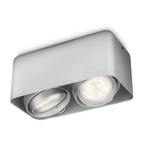 Philips/massive Afzelia lampa sufitowa aluminium led 2x3w 230v (8718291488415)