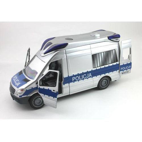 Dickie policja samochód sos radiowóz policyjny z dźwiękiem i światłem marki Dickie toys