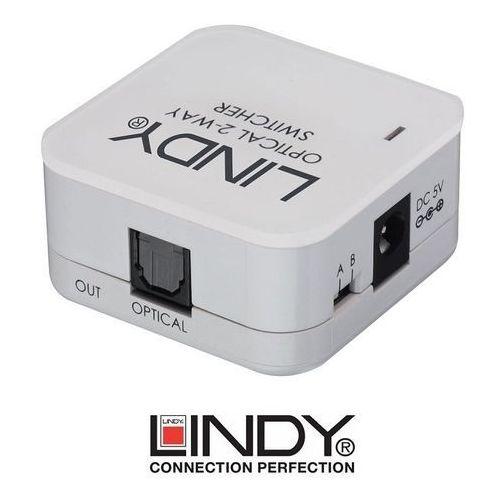 Switch (przełącznik) optyczny toslink 70406 marki Lindy