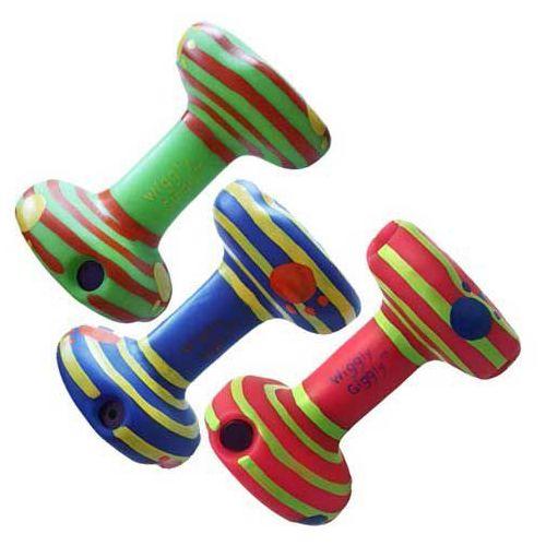 Kolorowa zabawka dla psa hantelek dla dużych psów marki Happypet