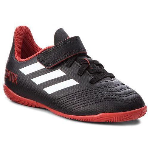 Buty adidas - Predator Tango 18.4 In J DB2334 Cblack/Ftwwht/Red, kolor czarny