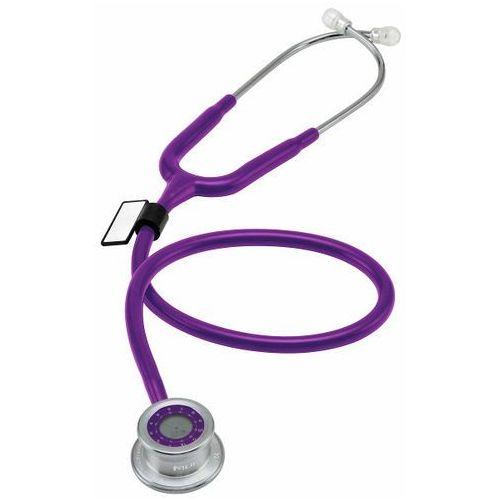 Stetoskop  pulse time 740 z zegarem - purpurowy marki Mdf