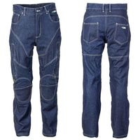 W-tec Męskie jeansy motocyklowe z kevlarem nf-2931, ciemny niebieski, 4xl
