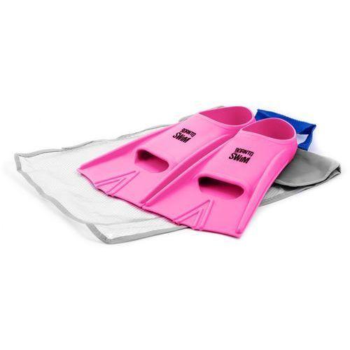 Born To Swim Silikonowe Płetwy – Pink 42-44
