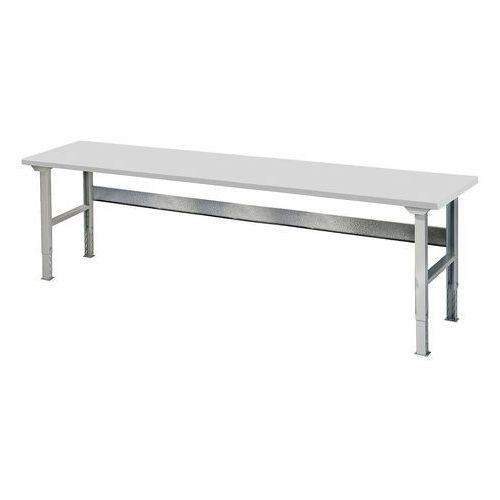 Aj produkty Stół roboczy solid, 500 kg, 2500x800 mm, laminat