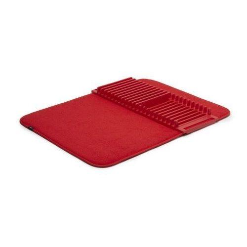 - zwijany ociekacz do naczyń udry - lniany - czerwony marki Umbra