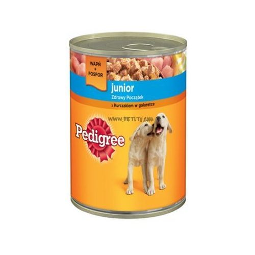 Pedigree Junior kurczak w galaretce24X 400g (5900951015946)
