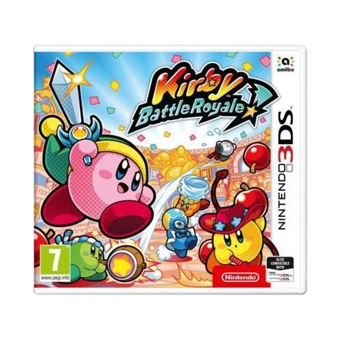 Nintendo Gra 3ds kirby: battle royale