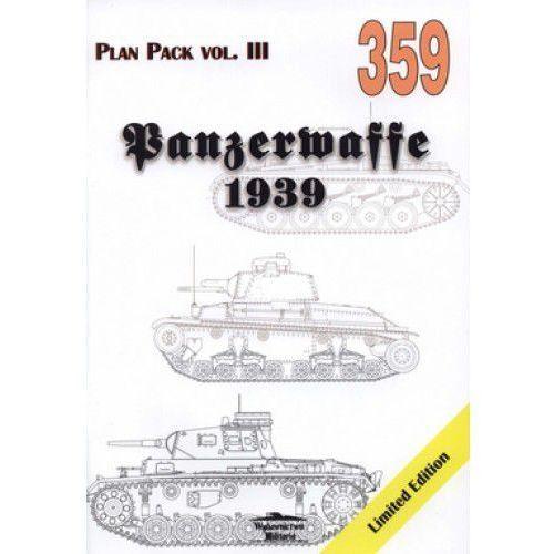 PANZERWAFFE 1939 Plan Pack vol.III MILITARIA 359 Grzegorz Jackowski (opr. miękka)