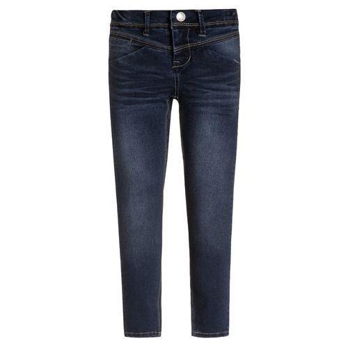 girls spodnie jeans sus dark blue denim slim marki Name it