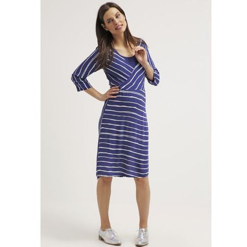 MAMALICIOUS MLSTRIPY TESS Sukienka letnia twilight blue