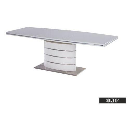 Selsey stół rozkładany vaster 140-200x90 cm biały (5903025237824)
