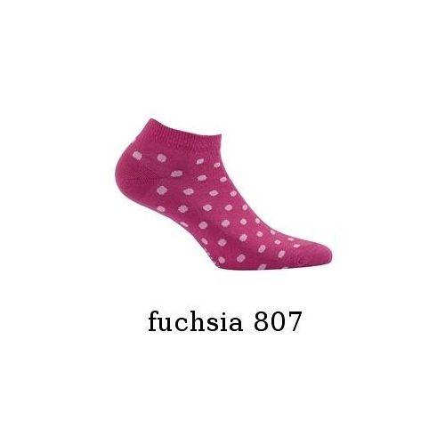 Stopki perfect woman w81.01p wzorzyste 39-41, white-pink/biały-różowy, wola marki Wola