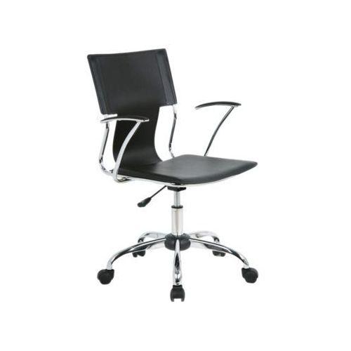 Fotel obrotowy, krzesło biurowe q-010 black marki Signal