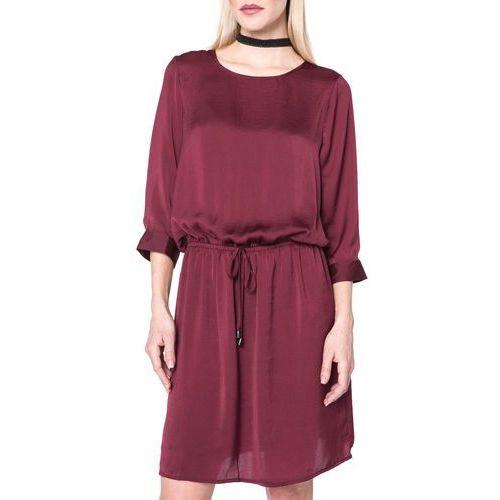 Vero Moda Abby Sukienka Czerwony M, kolor czerwony