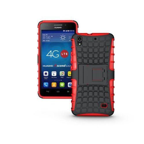 Perfect Armor Czerwony   Pancerna obudowa etui dla Huawei Ascend G620S - Czerwony