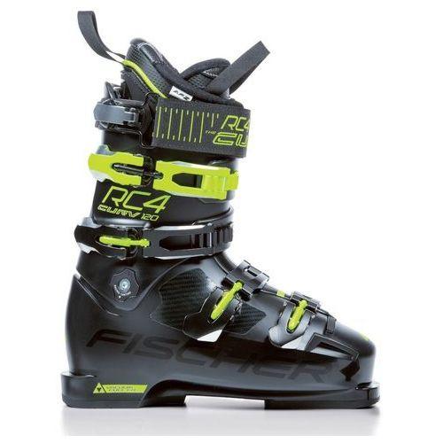 Buty narciarskie RC4 Curv 120 Vacuum Full Fit Czarny/Żółty 29.5