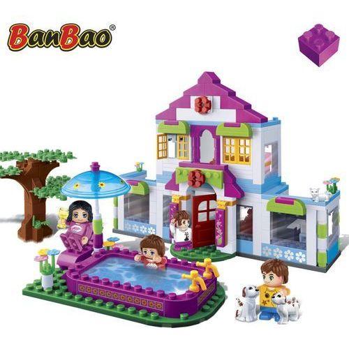 BanBao, Domek snów z basenem, klocki, 6109, 405 elementów Darmowa wysyłka i zwroty