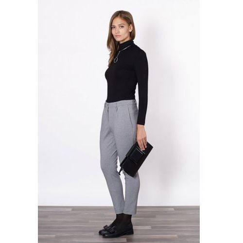 Spodnie damskie model payas 20177 grey, Click fashion