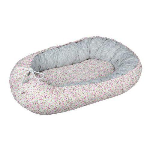 Kokon niemowlęcy / gniazdko dla noworodka - Łączka (zestaw materacyk + motylek), EF5A-94110