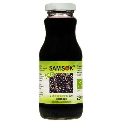 Sam sok z bzu czarnego bio 250ml-viands (5906961181428)