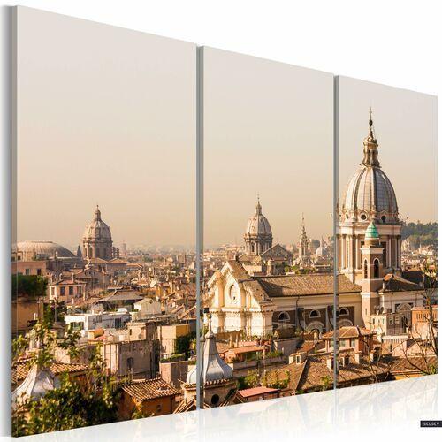 Selsey obraz - ponad dachami wiecznego miasta 120x80 cm
