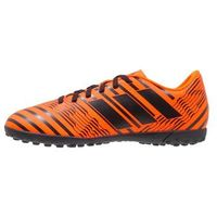 adidas Performance NEMEZIZ 17.4 TF Korki Turfy solar orange/core black, kolor pomarańczowy