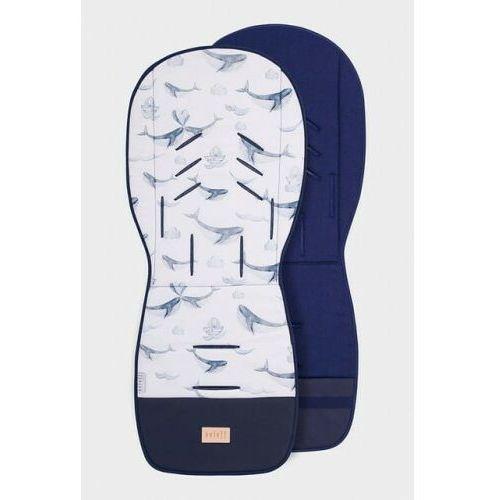 - wkładka do wózka wielorybi świat z lnem marki Beloff
