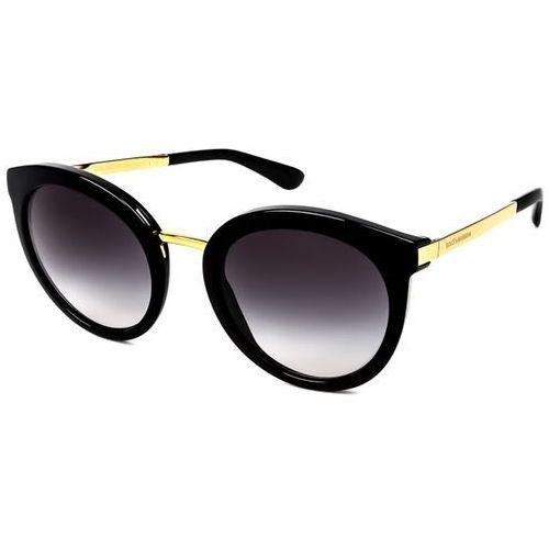 Okulary słoneczne dg4268 501/8g marki Dolce & gabbana