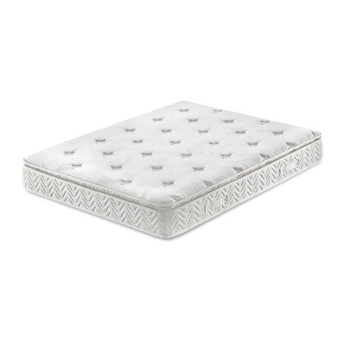 Materac kieszeniowy 160x200 cm - memory foam - multipocket - luxus marki Beliani
