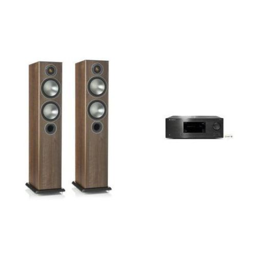 Zestawy Cambridge audio cxr120 + monitor audio bronze 5