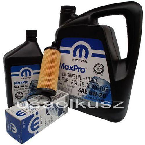 Olej 5w20 oraz oryginalny filtr ram 1500 3,6 v6 2014- marki Mopar