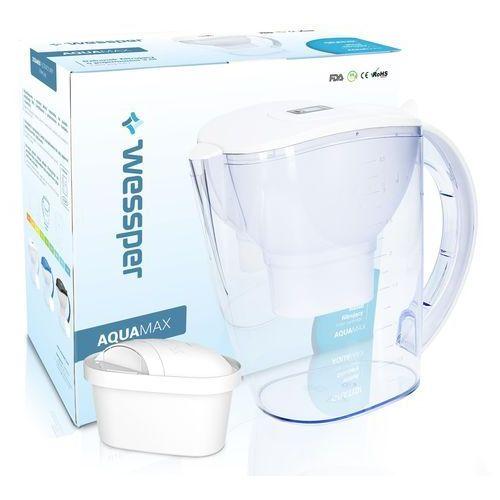 Wessper Dzbanek filtrujący aquamax wes026-wh biały 3,5l + filtr w zestawie