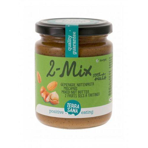 Terrasana Krem orzechowy mix (2 orzechy) bio 250 g -