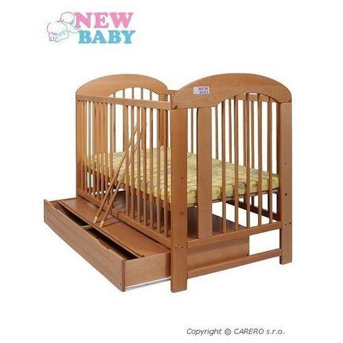 Łóżeczko dla dzieci New Baby Natalia naturalna + szuflada
