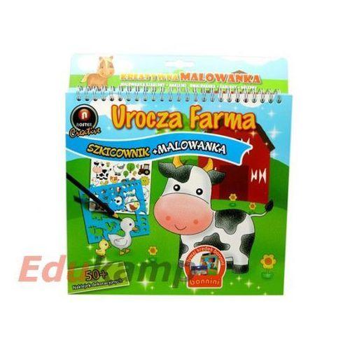 Szkicownik z malowanką Urocza Farma (5901688172520)