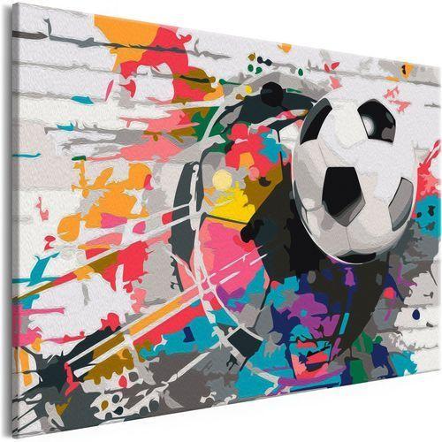 Obraz do samodzielnego malowania - Kolorowa piłka