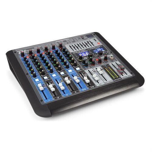 Power dynamics pdm-s804 8-kanałowy mikser muzyczny dsp/mp3 port usb odbiornik bt (8715693290837)
