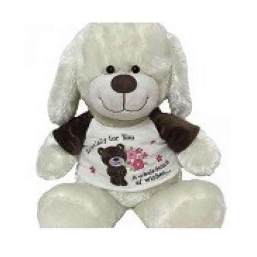 Pies nataniel w brązowej bluzeczce - . darmowa dostawa do kiosku ruchu od 24,99zł marki Axiom