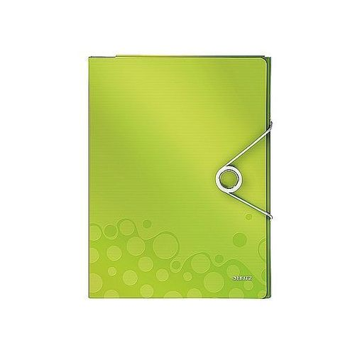 Organizer wow na 160 kartek a4 metaliczny zielony 46360064 marki Leitz