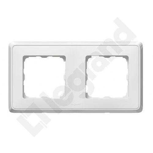 Legrand Cariva Ramka podwójna biała 773652, kolor biały