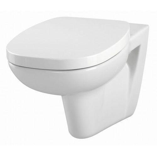 Cersanit miska wc wisząca facile + deska duroplast k30-010.k98-0117