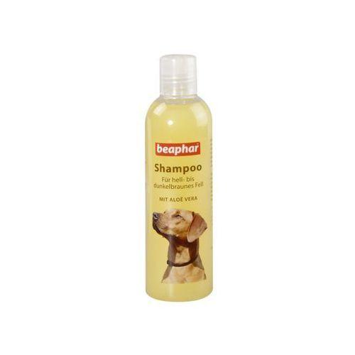 Beaphar Aloesowy szampon dla psów od jasnej do ciemnobrązowej sierści 250 ml, kategoria: pielęgnacja psów