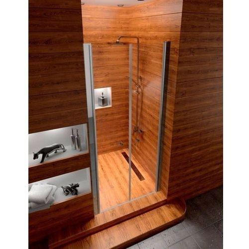 Drzwi prysznicowe wahadłowe Western Rea 100 cm UZYSKAJ 5 % RABATU NA DRZWI (5902557329335)