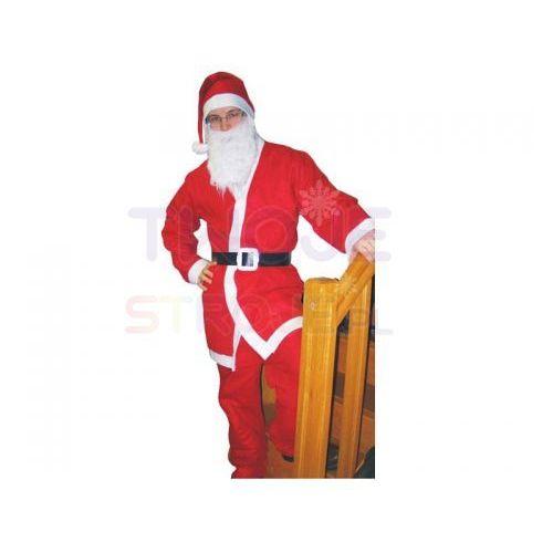 Strój dla dorosłych Mikołaj (czapka broda bluz (5901238663072)