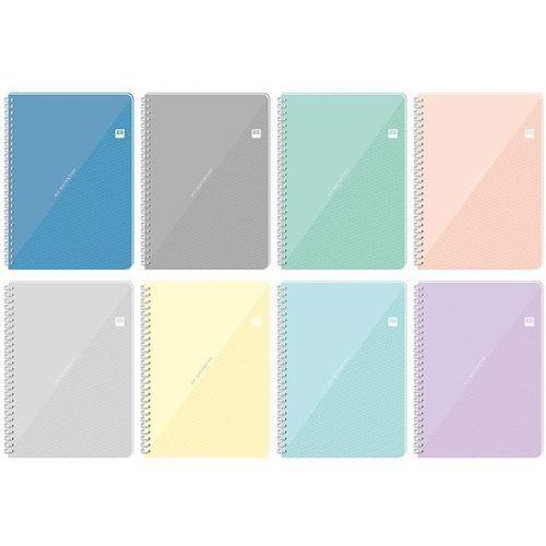 Kołozeszyt A4/100#/= z przekładkami Black&Blue pastel (5902277255709)