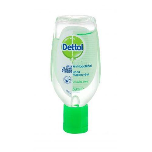 Dettol Antibacterial Hand Hygiene Gel Aloe Vera antybakteryjne kosmetyki 50 ml unisex (5011417566299)